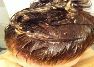 Маска с женьшенем для волос