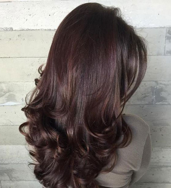Пышные здоровые волосы
